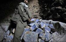 لاجورد 226x145 - افزایش نگرانیها در پیوند به تاراج منابع لاجورد بدخشان توسط طالبان