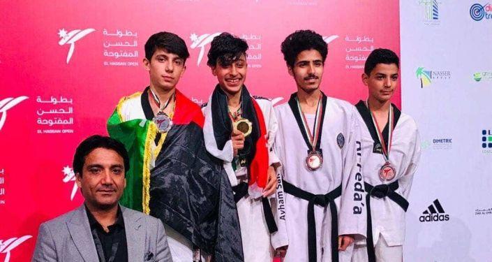 مسابقات قهرمانی الحسن کپ - کسب جام قهرمانی توسط تکواندوبازان نوجوانان افغانستان