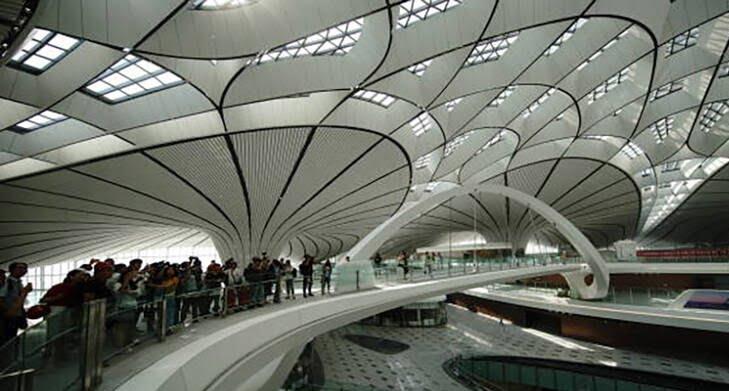 میدان هوایی چین 1 - تصاویری از بزرگترین میدان هوایی جهان