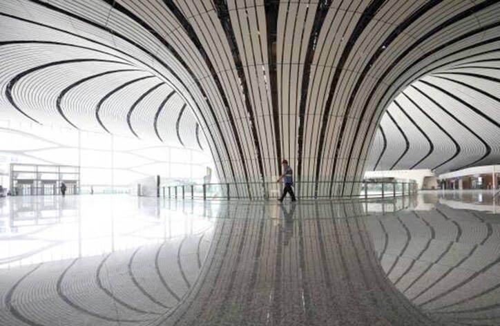 میدان هوایی چین 10 - تصاویری از بزرگترین میدان هوایی جهان