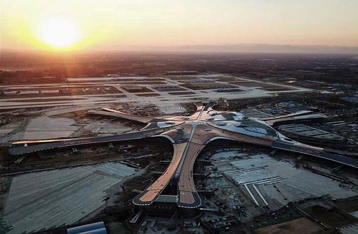میدان هوایی چین 3 - تصاویری از بزرگترین میدان هوایی جهان
