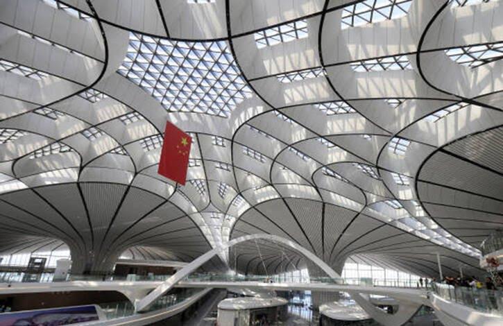 میدان هوایی چین 7 - تصاویری از بزرگترین میدان هوایی جهان