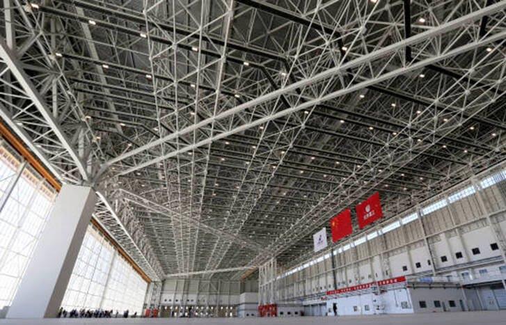 میدان هوایی چین 8 - تصاویری از بزرگترین میدان هوایی جهان