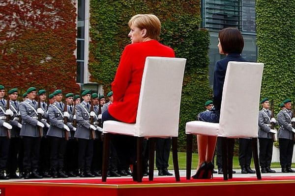 میرکل - صدراعظم جرمنی نشست تا نلرزند!