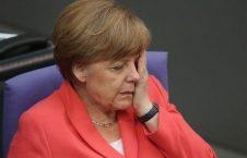 میرکل1 226x145 - صدراعظم جرمنی نشست تا نلرزند!