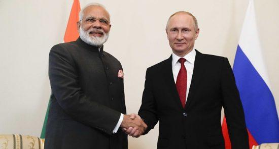 هند روسیه 550x295 - خرید تسلیحاتی ۲۱۸ ملیون دالری هند از روسیه