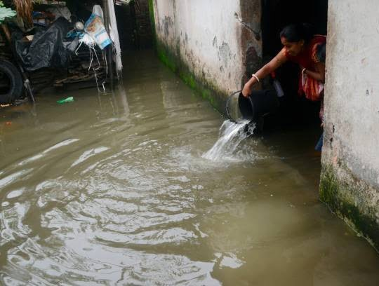 هند سیلاب 1 - تصاویری از سیلاب های شدید در هند