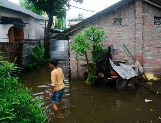 هند سیلاب 4 - تصاویری از سیلاب های شدید در هند