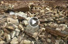 ویدیو ریزش دیوار خانه موتر هند 226x145 - ویدیو/ ریزش دیوار یک خانه روی موتر سواری در هند