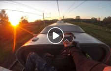 ویدیو عاقبت سلفی سقف قطار 226x145 - ویدیو/ عاقبت سلفی گرفتن روی سقف قطار