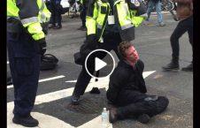 ویدیو پولیس فرانسه محیط زیست 226x145 - ویدیو/ برخورد غیر انسانی پولیس فرانسه با فعالان محیط زیست