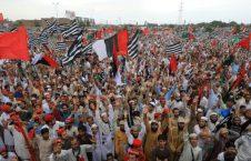پاکستان تظاهرات 226x145 - برپایی تظاهرات علیه عمران خان در پاکستان