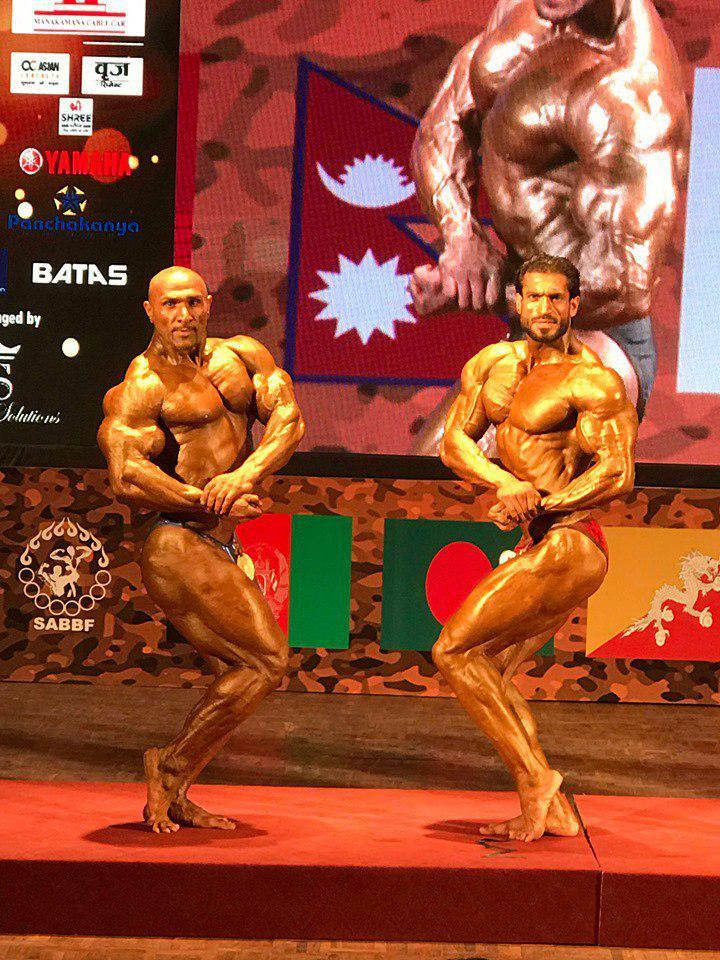 پرورش اندام 1 - قهرمانی تیم پرورش اندام افغانستان در رقابت های جنوب آسیا + تصاویر