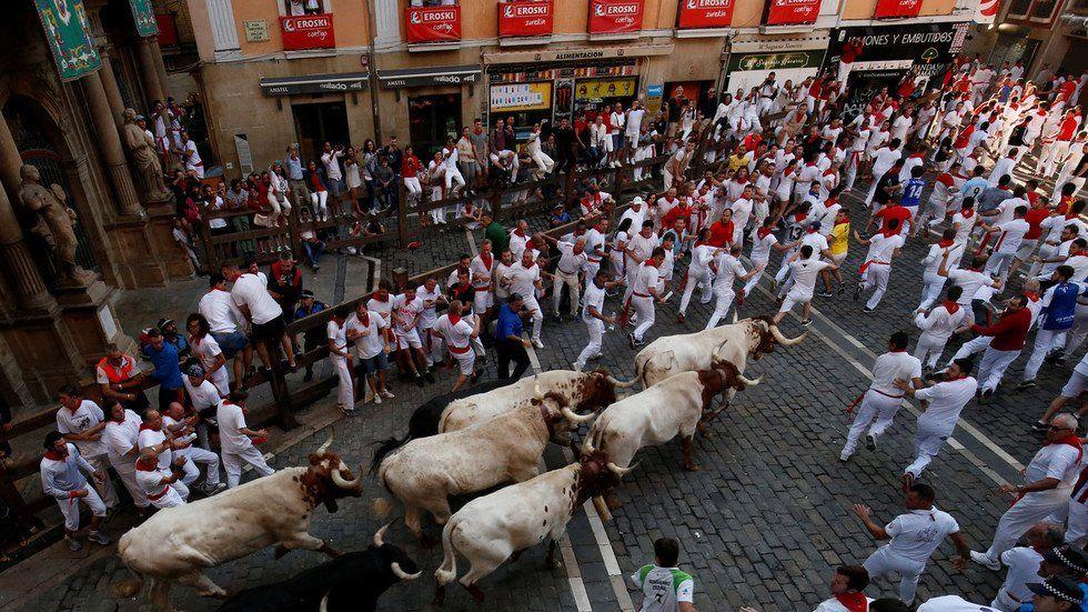 گاوبازی2 - تصاویر/ جشنواره خونین گاوبازی در هسپانیا