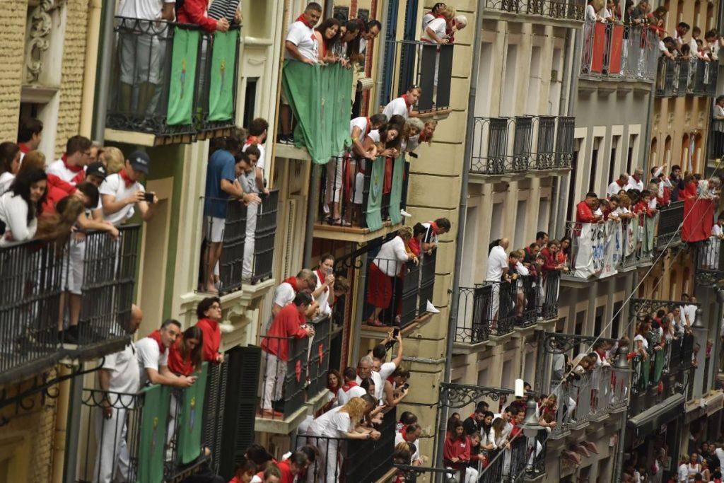 گاوبازی9 1024x683 - تصاویر/ جشنواره خونین گاوبازی در هسپانیا