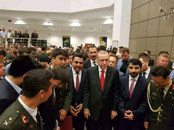 یارمحمددوستم1 - تصاویر/ فراغت فرزند جنرال دوستم از آکادمی نظامی ترکیه