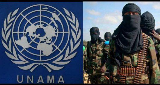 یوناما تروریست 550x295 - همکاری استخباراتی و تسلیحاتی يوناما با گروه های تروریستی در افغانستان