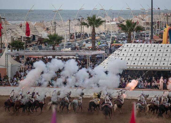 اسب1 - تصاویری دیدنی از جشنواره اسب سواری