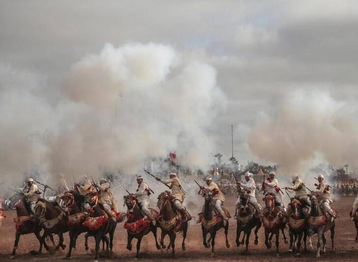 اسب10 - تصاویری دیدنی از جشنواره اسب سواری