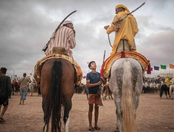 اسب4 - تصاویری دیدنی از جشنواره اسب سواری