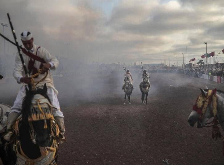 اسب8 - تصاویری دیدنی از جشنواره اسب سواری