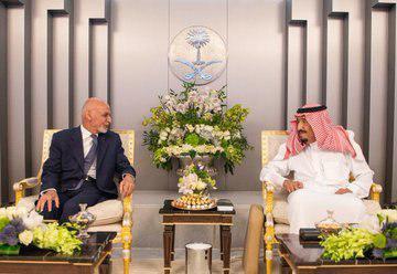 اشرف غنی ملک سلمان - پشت پرده تلاش غنی برای تقویت رابطه با سعودی ها