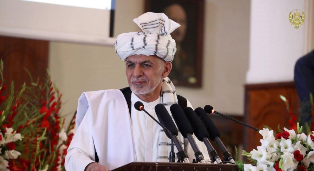 اشرف غنی 1 - تاکید رییس جمهور غنی بر برگزاری انتخابات ریاستجمهوری