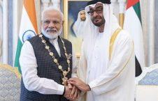 امارات هند 226x145 - لغو سفر رییس سنای پاکستان به امارات در اعتراض به تقدیر از مودی