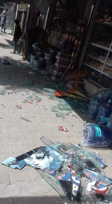 انفجار کابل 10 - انفجار در نزدیکی پل سوخته شهر کابل به روایت تصاویر