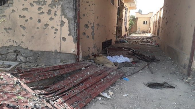 انفجار کابل 11 - انفجار در نزدیکی پل سوخته شهر کابل به روایت تصاویر