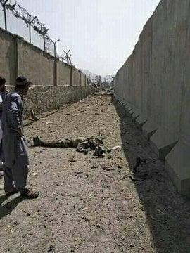 انفجار کابل 15 - انفجار در نزدیکی پل سوخته شهر کابل به روایت تصاویر