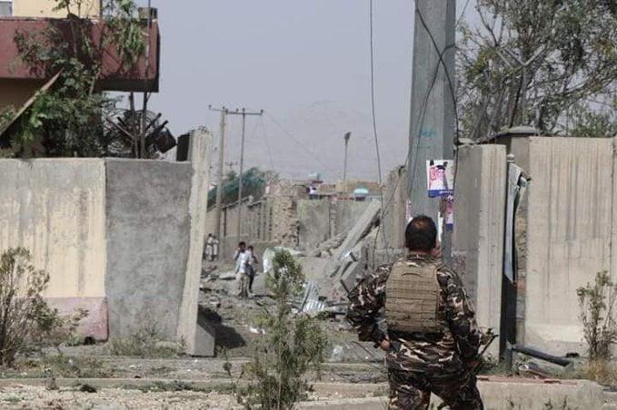 انفجار کابل 17 - انفجار در نزدیکی پل سوخته شهر کابل به روایت تصاویر