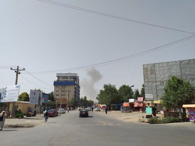 انفجار کابل 3 - انفجار در نزدیکی پل سوخته شهر کابل به روایت تصاویر