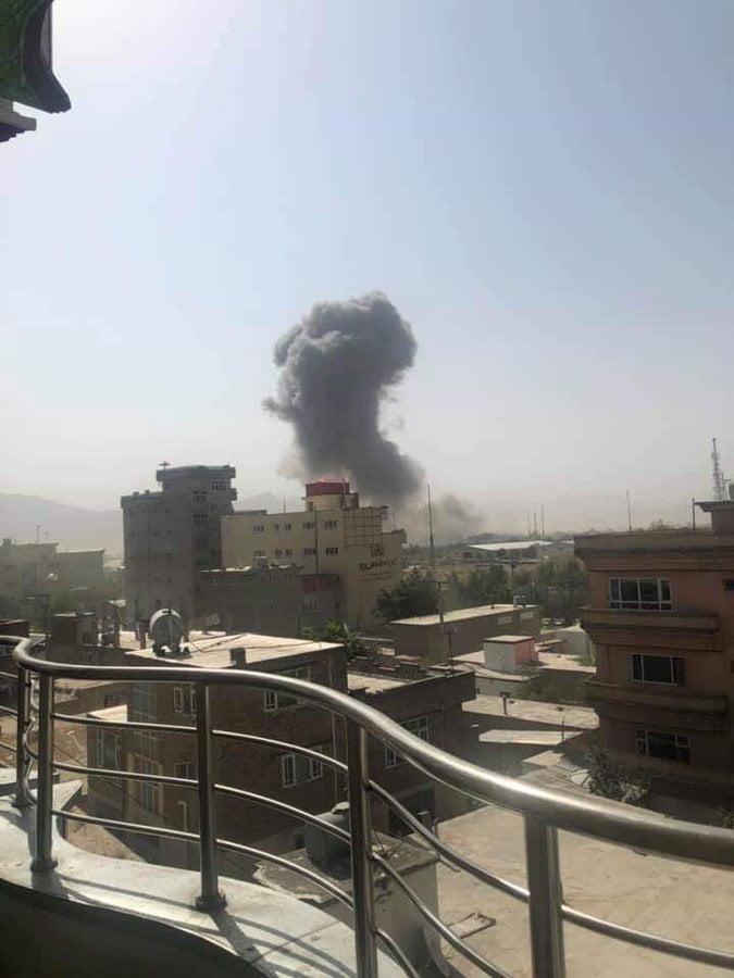 انفجار کابل 4 - انفجار در نزدیکی پل سوخته شهر کابل به روایت تصاویر