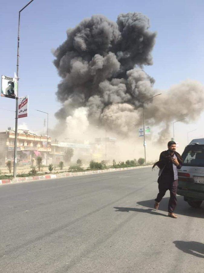 انفجار کابل 9 - انفجار در نزدیکی پل سوخته شهر کابل به روایت تصاویر