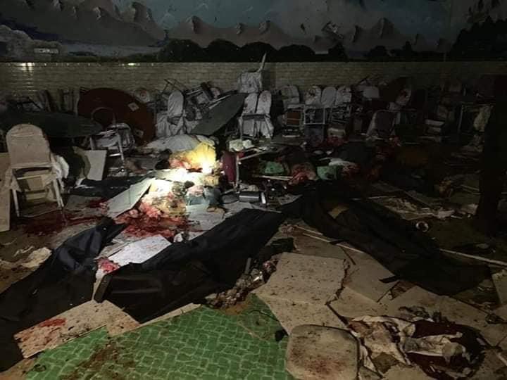 انفجار کابل2 - تصاویر/ انفجار خونین در هوتل شهر دوبی کابل
