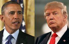 اوباما ترمپ 226x145 - کنایه اوباما به ترمپ!