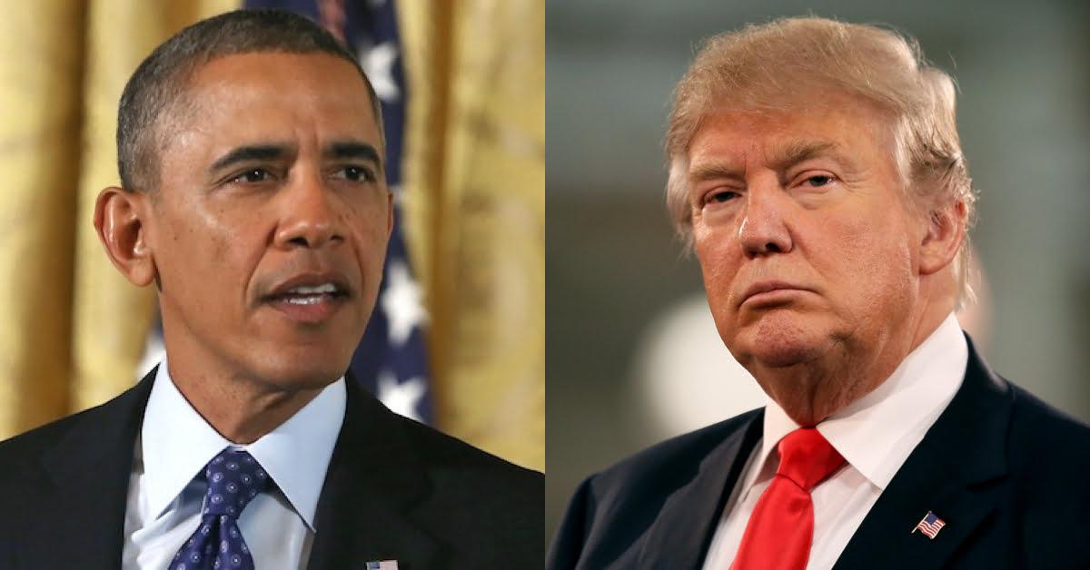 اوباما ترمپ - کنایه اوباما به ترمپ!