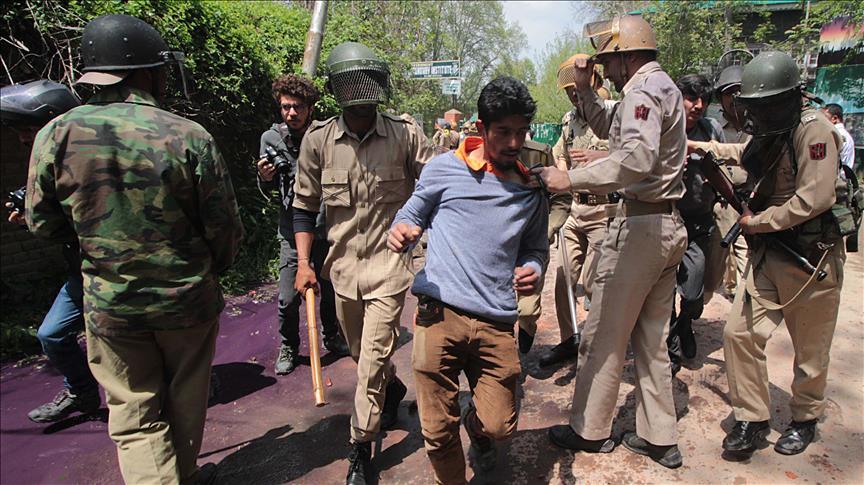 بازداشت کشمیر هند