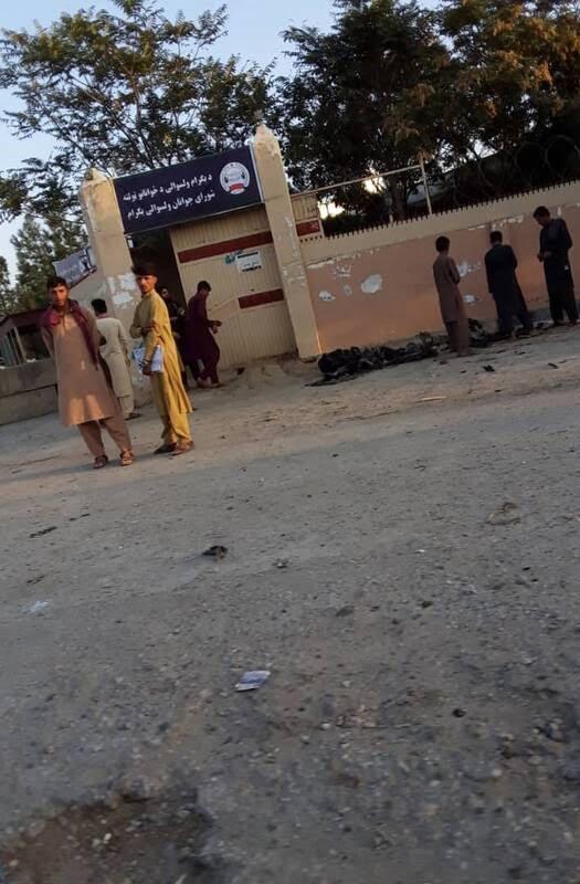 بگرام - تصاویر/ حمله طالبان بالای کاروان عساکر امریکایی