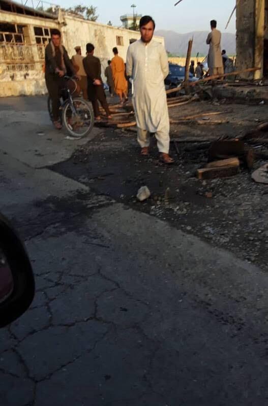 بگرام2 - تصاویر/ حمله طالبان بالای کاروان عساکر امریکایی