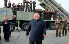 پرتاب راکت بالستیک کوریای شمالی
