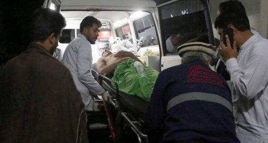 زخمی 1 550x295 - وقوع یک انفجار در ولسوالی سپین بولدک ولایت کندهار