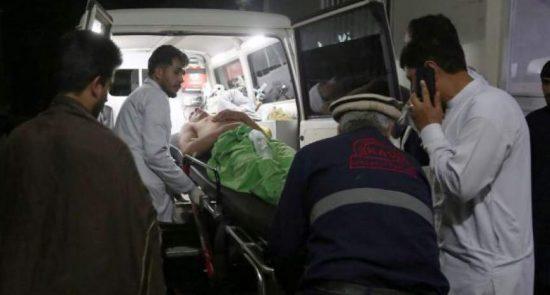 زخمی 550x295 - اصابت دو مرمی هاوان در چهاردره کندز