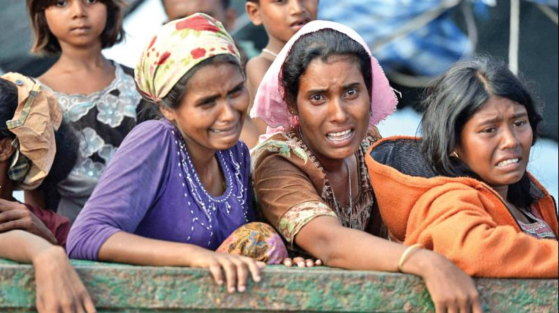 زنان روهینگیا میانمار