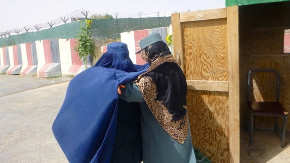 زنان پولیس - زنان پولیس، امنیت زابل را بهبود بخشیده اند