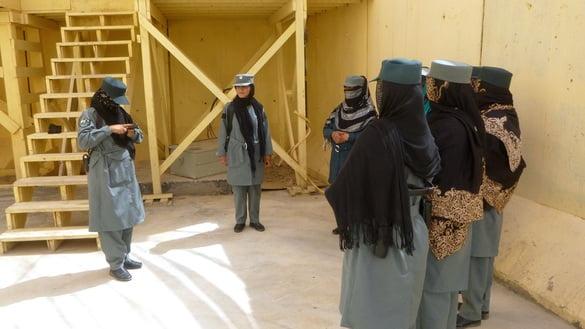 زنان پولیس2 - زنان پولیس، امنیت زابل را بهبود بخشیده اند