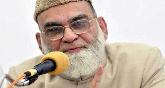 سیداحمد بخاری  550x295 - انتقاد شدید ملاامام مسجد دهلی از اوضاع جاری در کشمیر