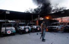 ممانعت طالبان از کمک های صلیب سرخ به افغانستان
