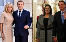 فرانسه برازیل 226x145 - اظهار نظر جنجالی رییس جمهور برازیل درباره همسر مکرون
